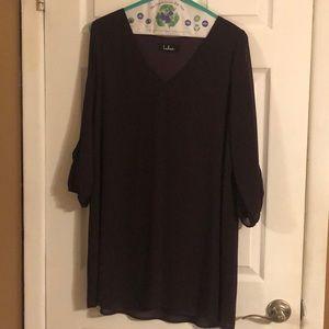 Lulus plum color dress